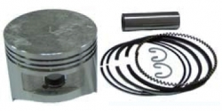 Piston with pin&clips + Ring set, fits HONDA GX340