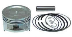 Piston with pin&clips + Ring set, fits HONDA GX270