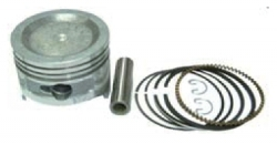 Piston with pin&clips + Ring set, fits HONDA GXV160